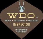 WDO Inspector Internachi Certified Badge